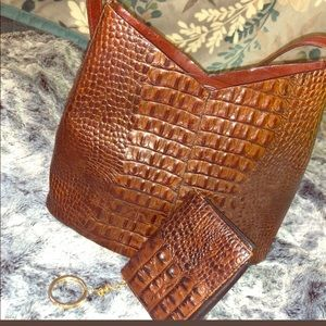 Brahmin Purse With Matching Wallet